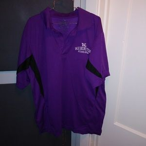 Other - Washington Huskies Polo Shirt Size M